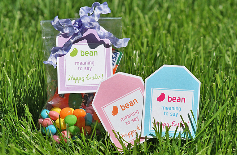 printable easter gift card tags