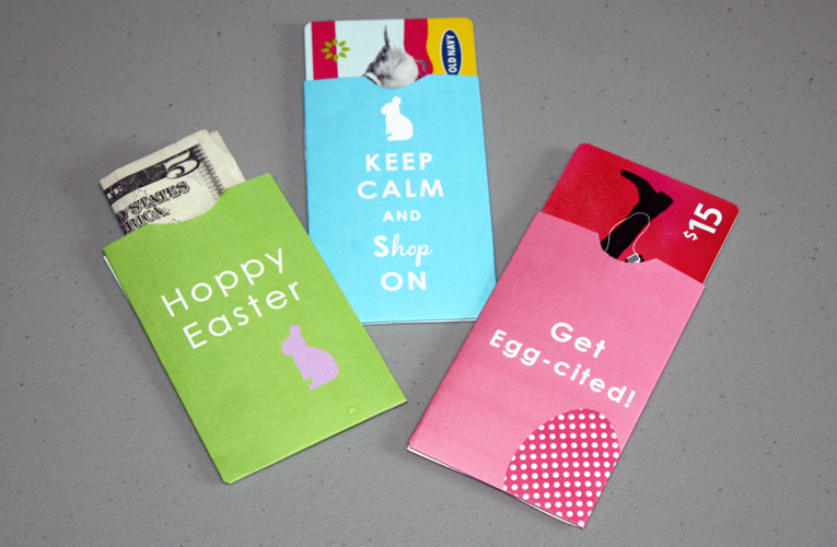 Easter Gift Card Holder