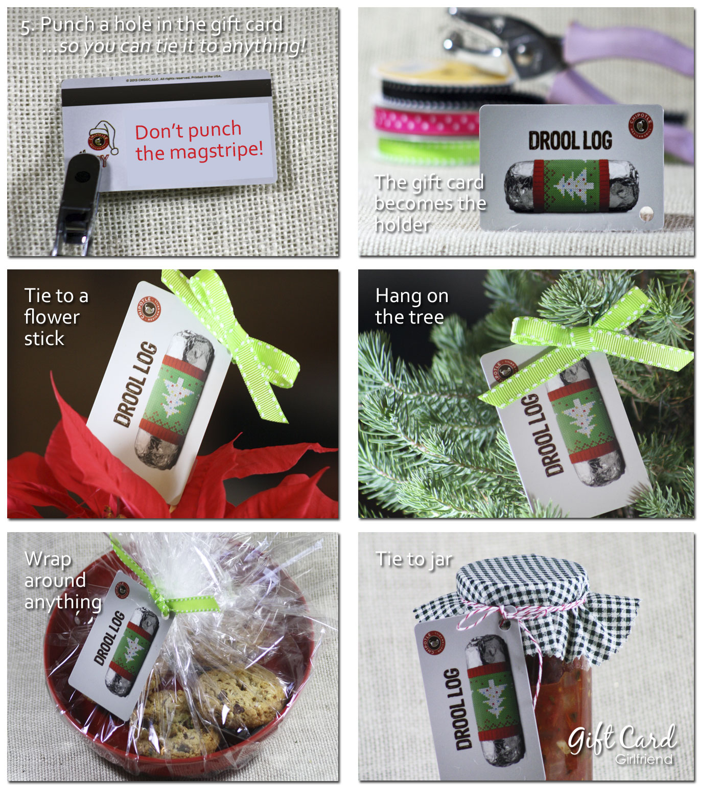 gift card wrapping ideas stocking