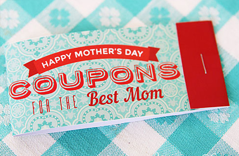 coupon book for mom