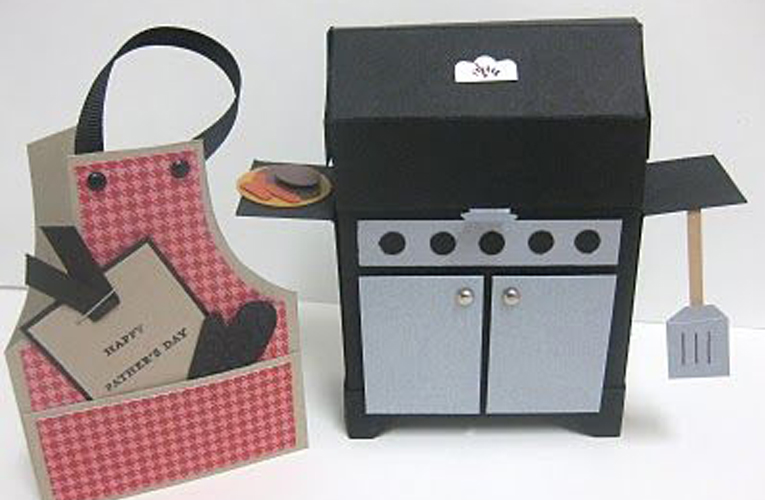 holder for barbeque card
