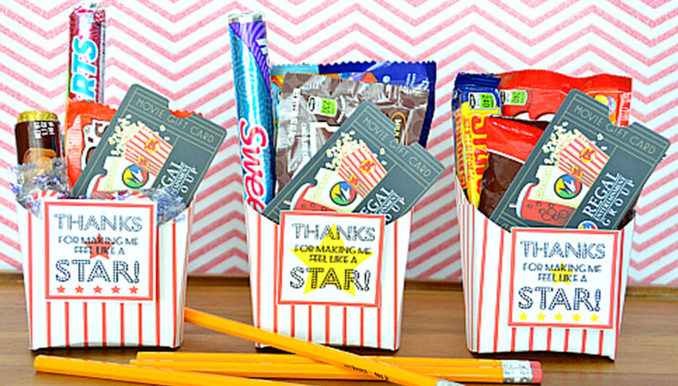 movie gift card holder  sc 1 st  GiftCards.com & Most Popular Gift Ideas for Teacher Appreciation Week