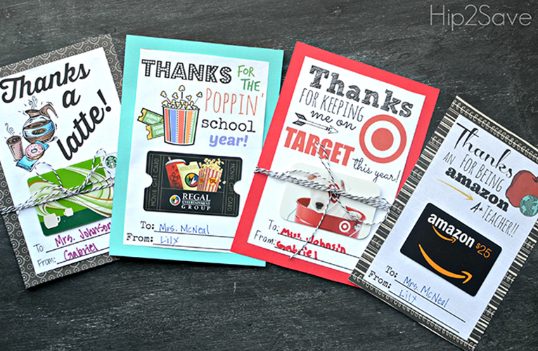 store gift cards for teacher