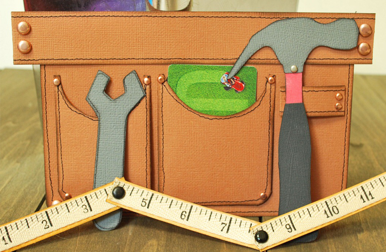 toolbelt card holder