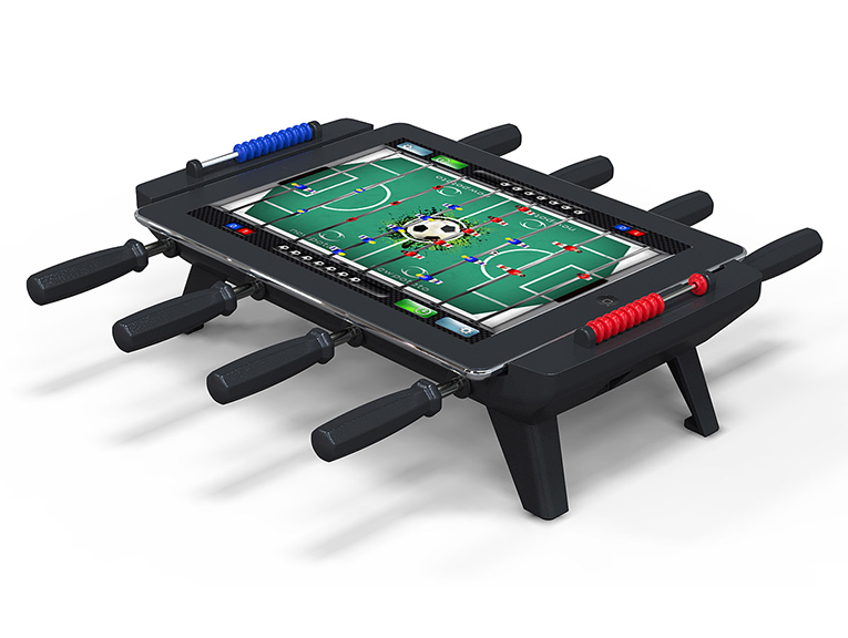 iPad foosball table that works