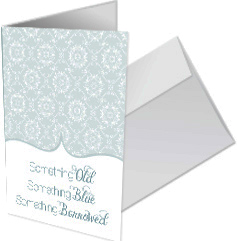Something new matching greeting card