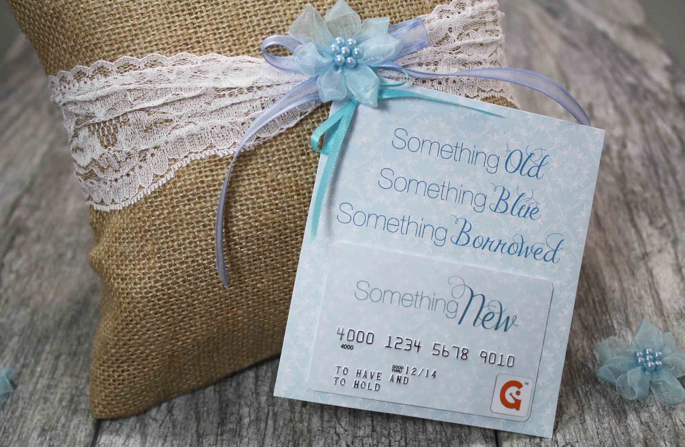 "Wedding Gift Cards Online: {Free Printable} ""Something New"" Wedding Gift Card Holder"
