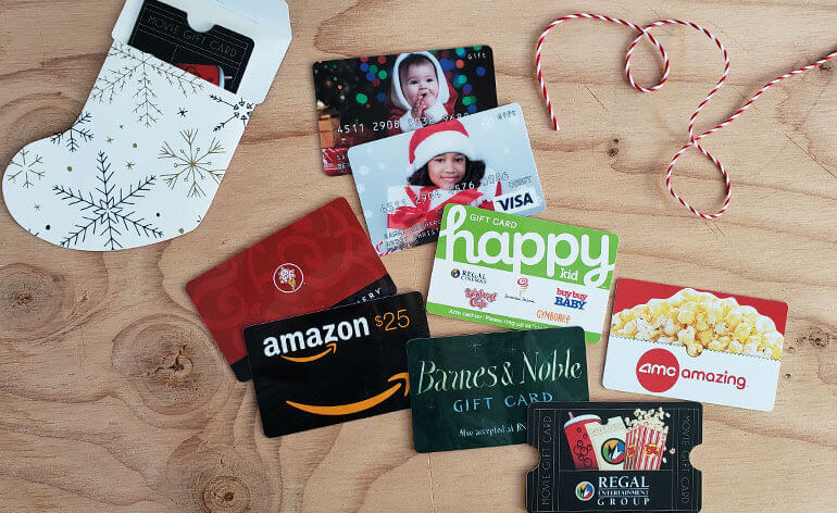 top holiday gift cards for kids