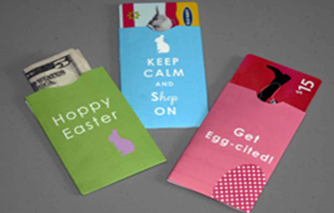 Free Printable Gift Card Holders For Matching Gift Cards