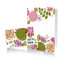 Predesigned Gift Cards