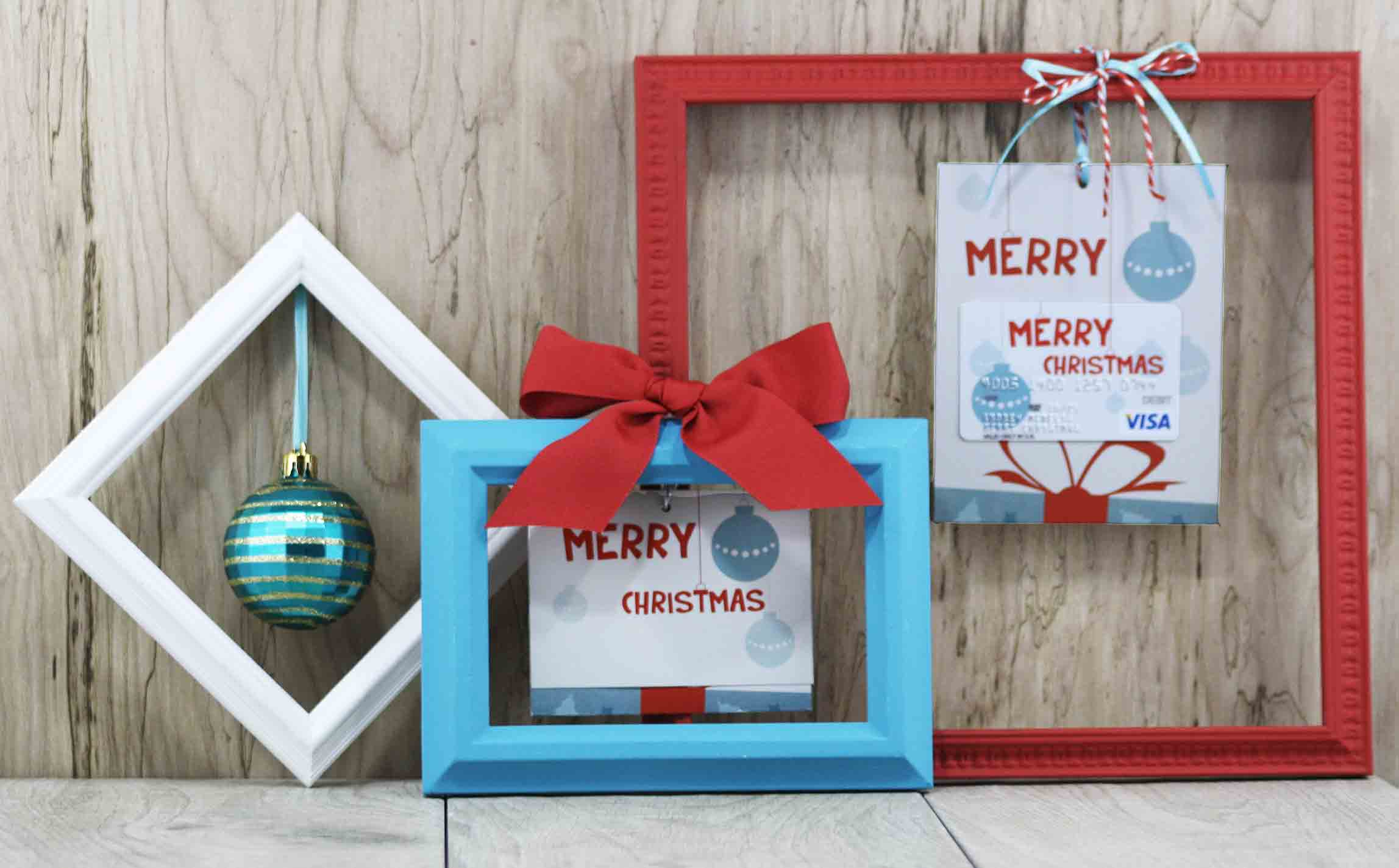 Free Printable} Merry Christmas Gift Card Holder| GCG