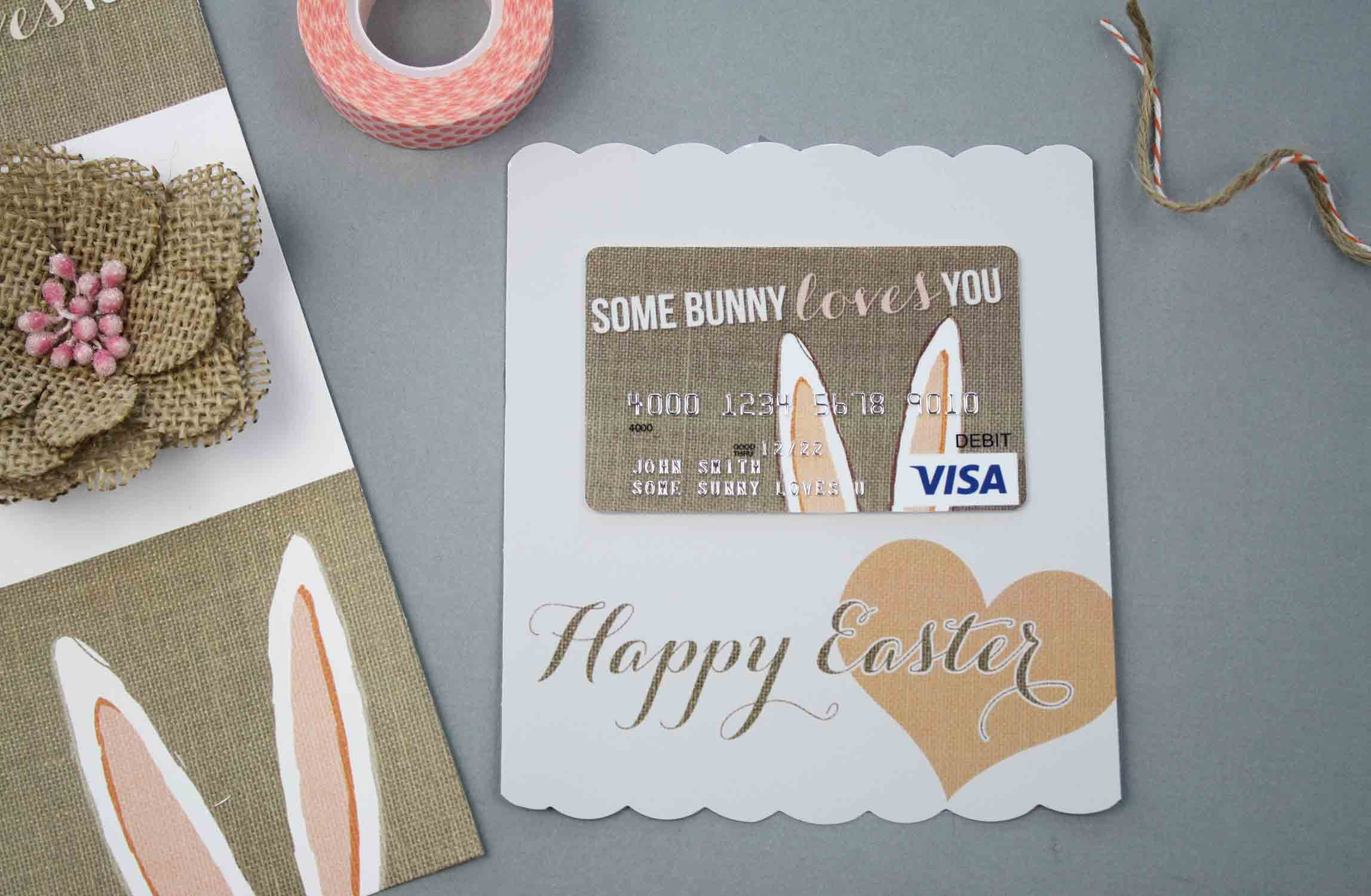 Free printable burlap bunny easter gift card holder gcg burlap bunny gift card negle Gallery