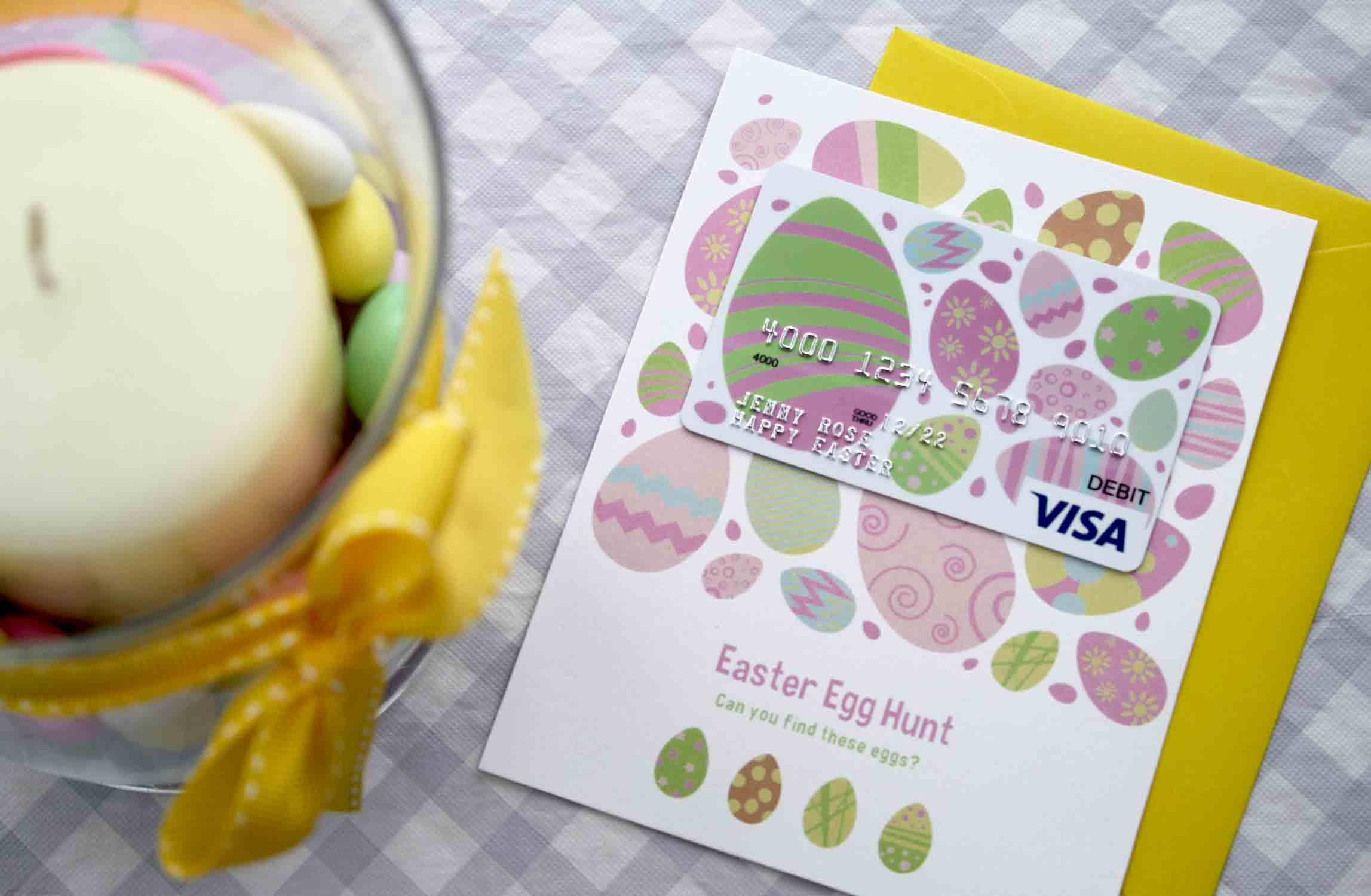 Free printable gift card holder is an easter egg hunt gcg finished flat gift card holder negle Gallery