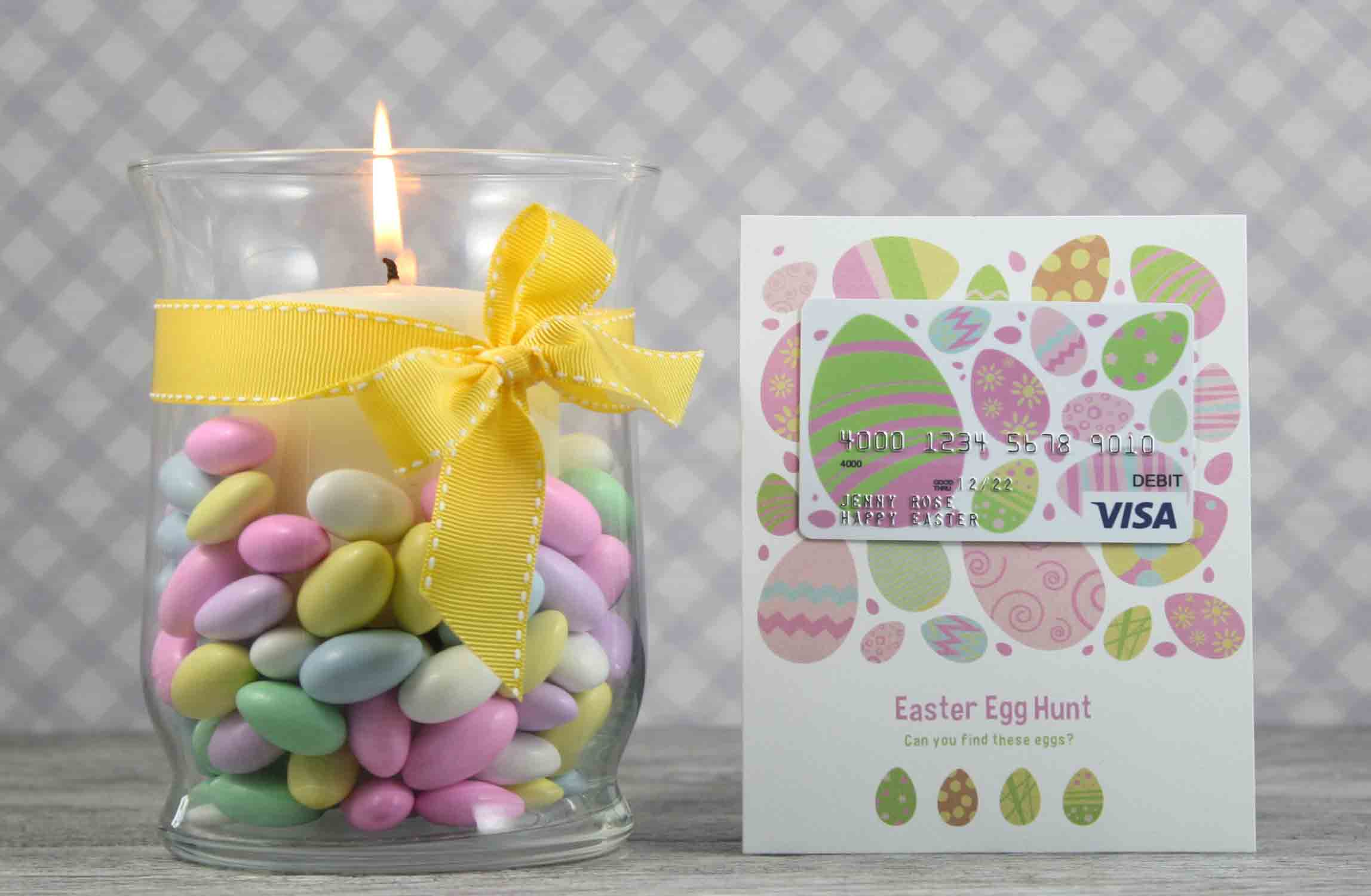 easter egg hunt gift card