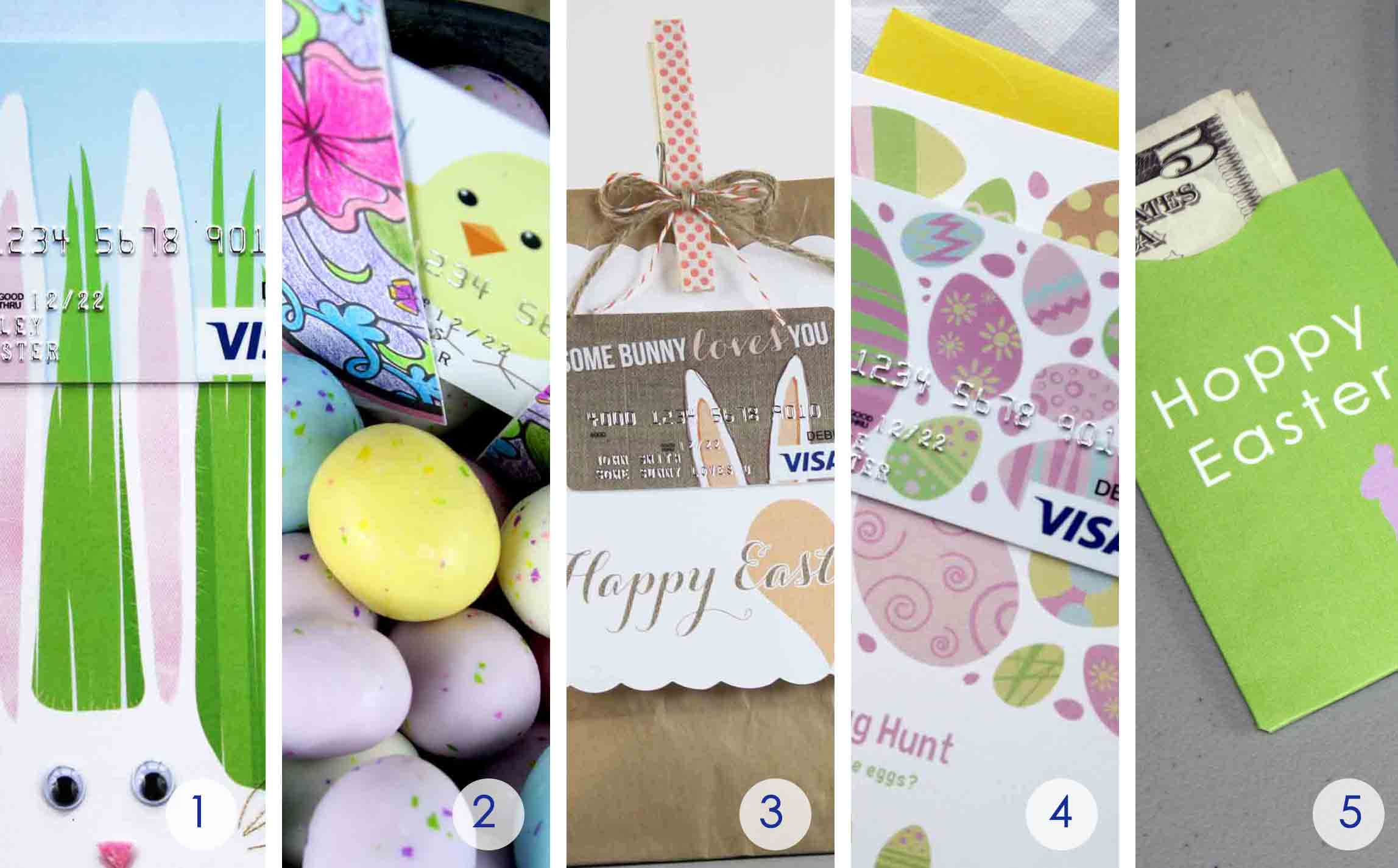5 free easter gift card holders to print at home gcg round of up free easter gift card printables negle Choice Image