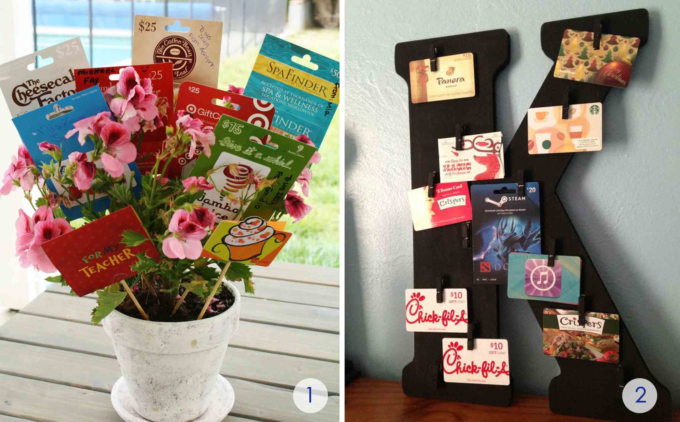 The Best Gift Card Tree And Wreaths Ever