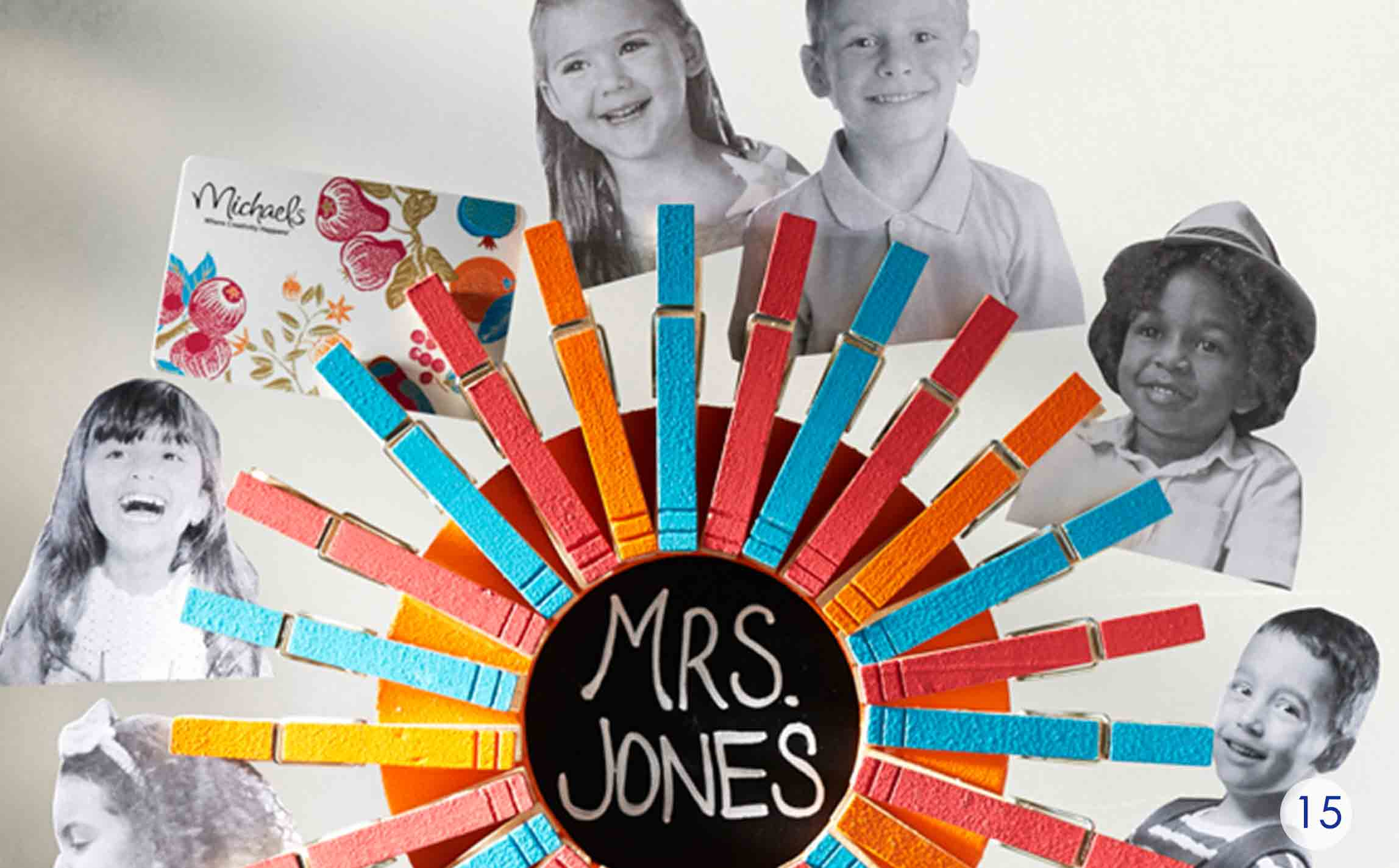teacher appreciation wreath