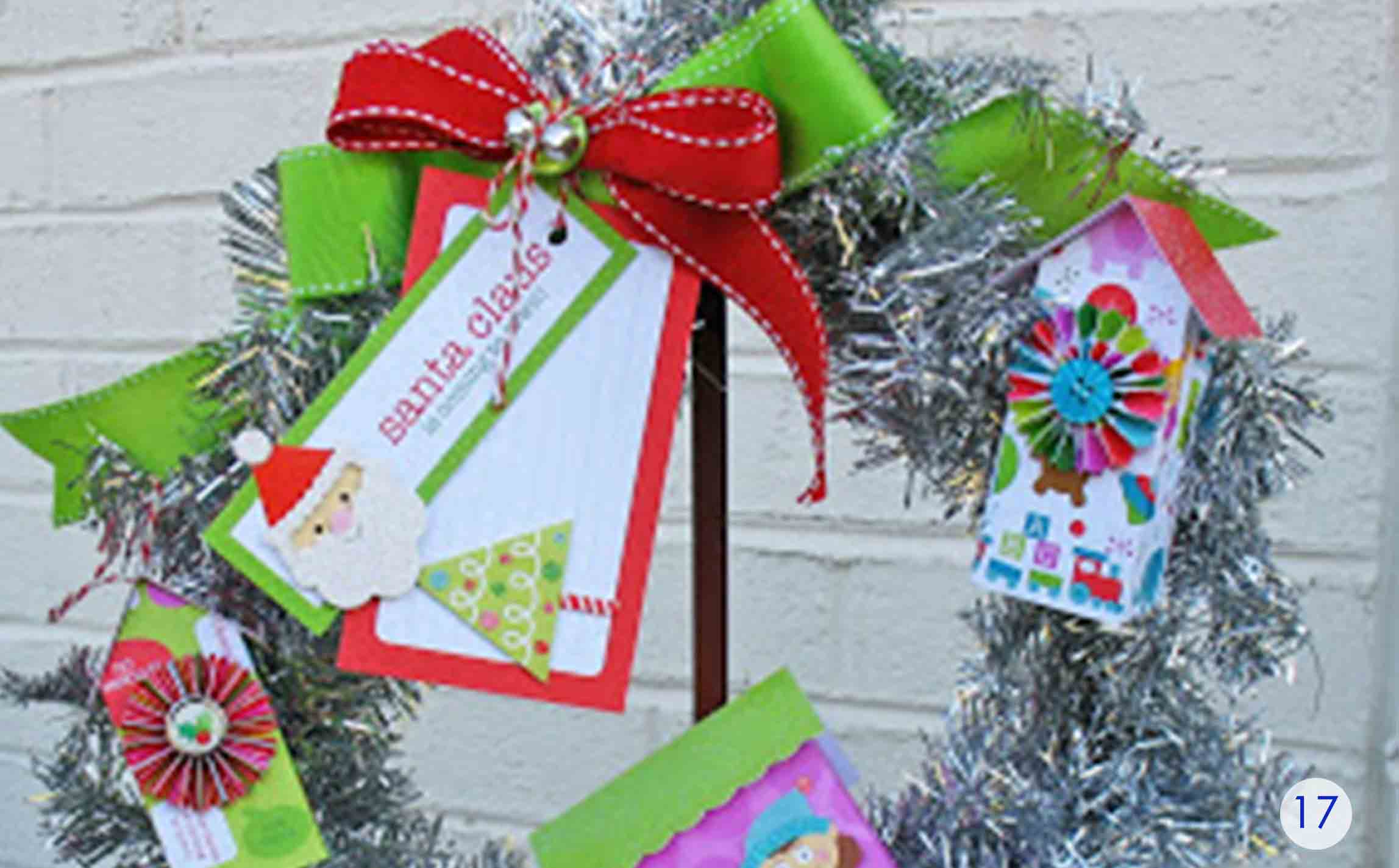 Tinsel Gift Card Holder