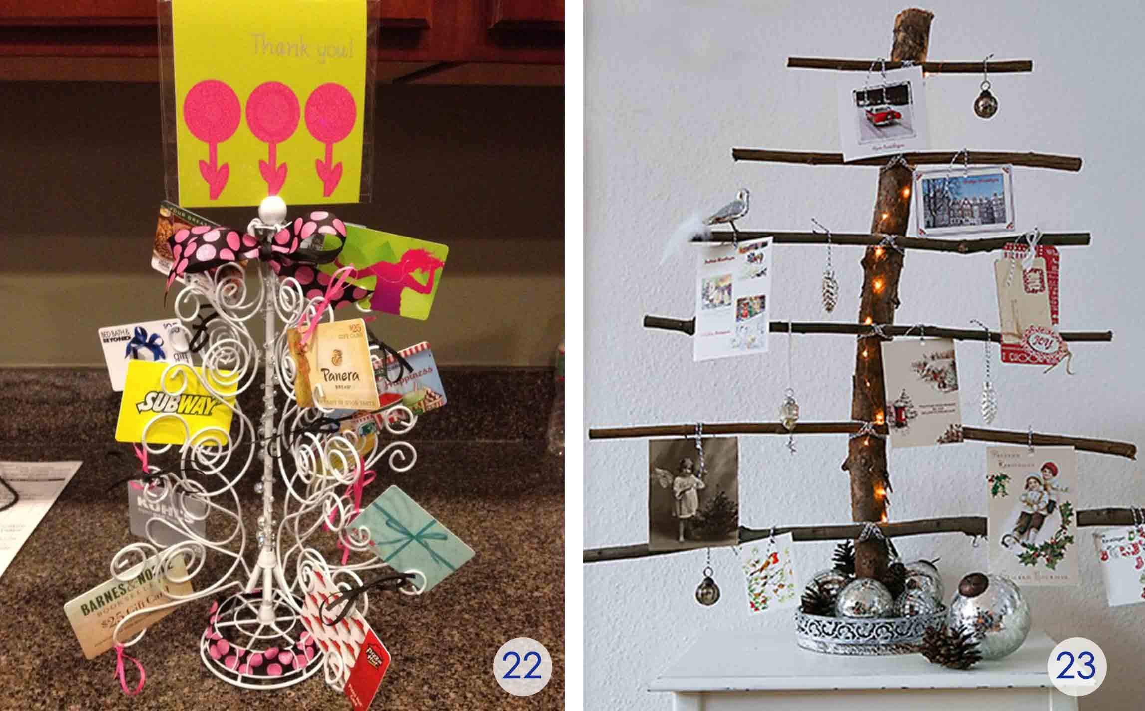 the best t card tree and t card wreaths ever