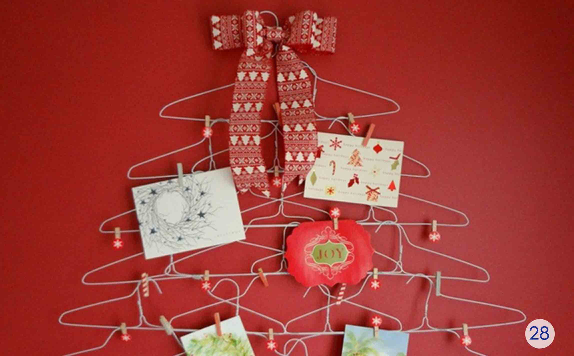 wire hanger gift card rack