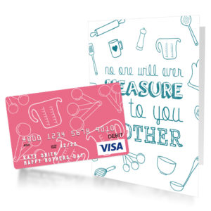 pre-made mother's day gift card