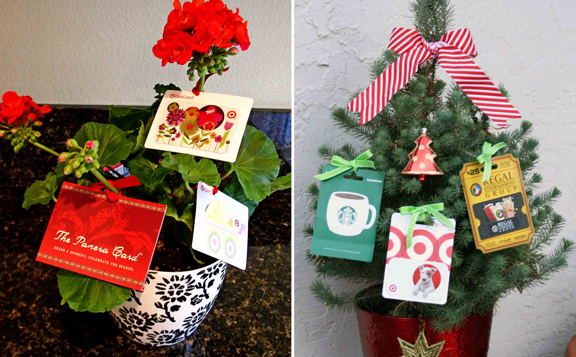 The best gift card tree and gift card wreaths ever gcg for Christmas ideas for christmas cards