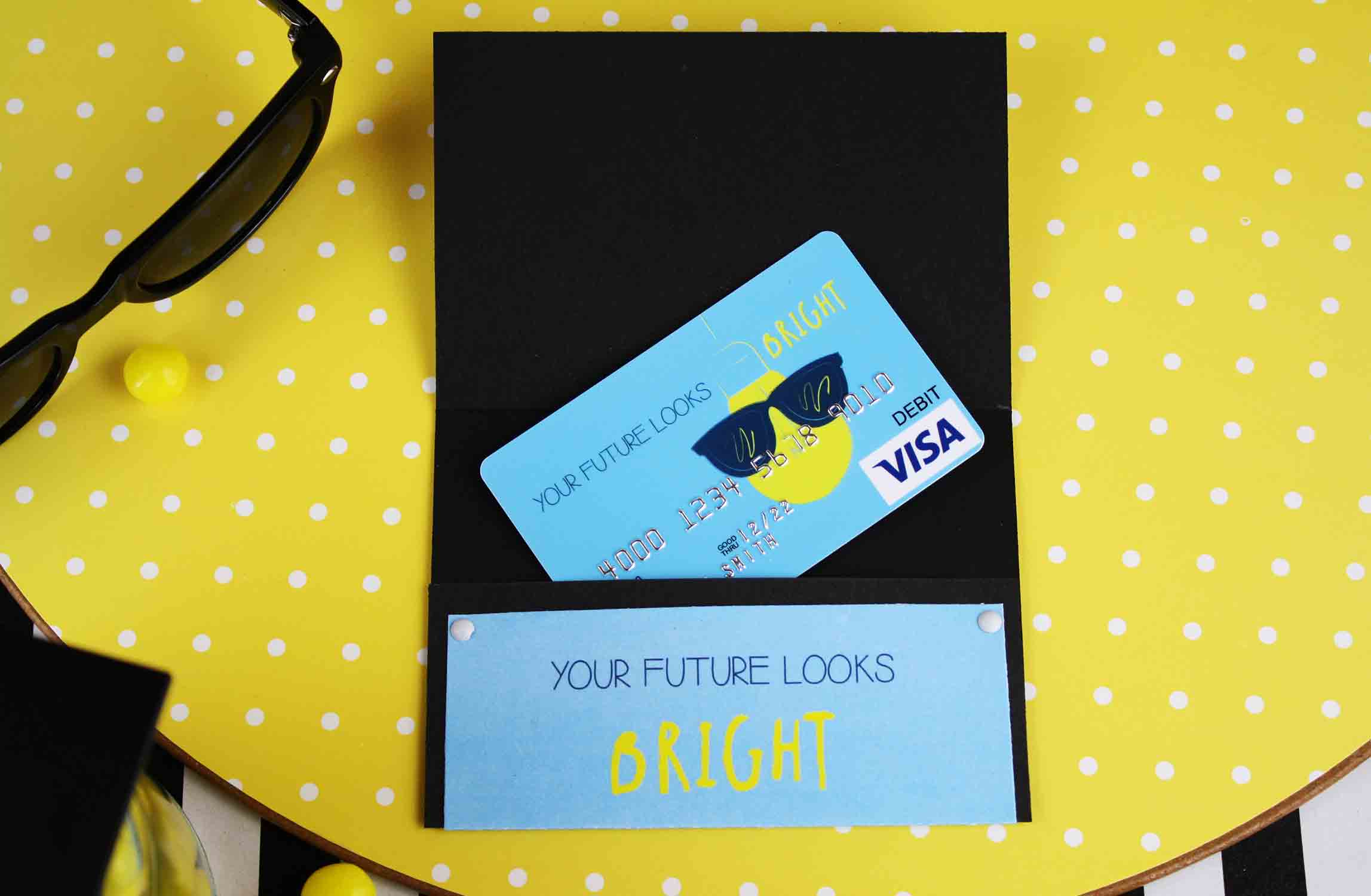 The future is bright Visa gift card