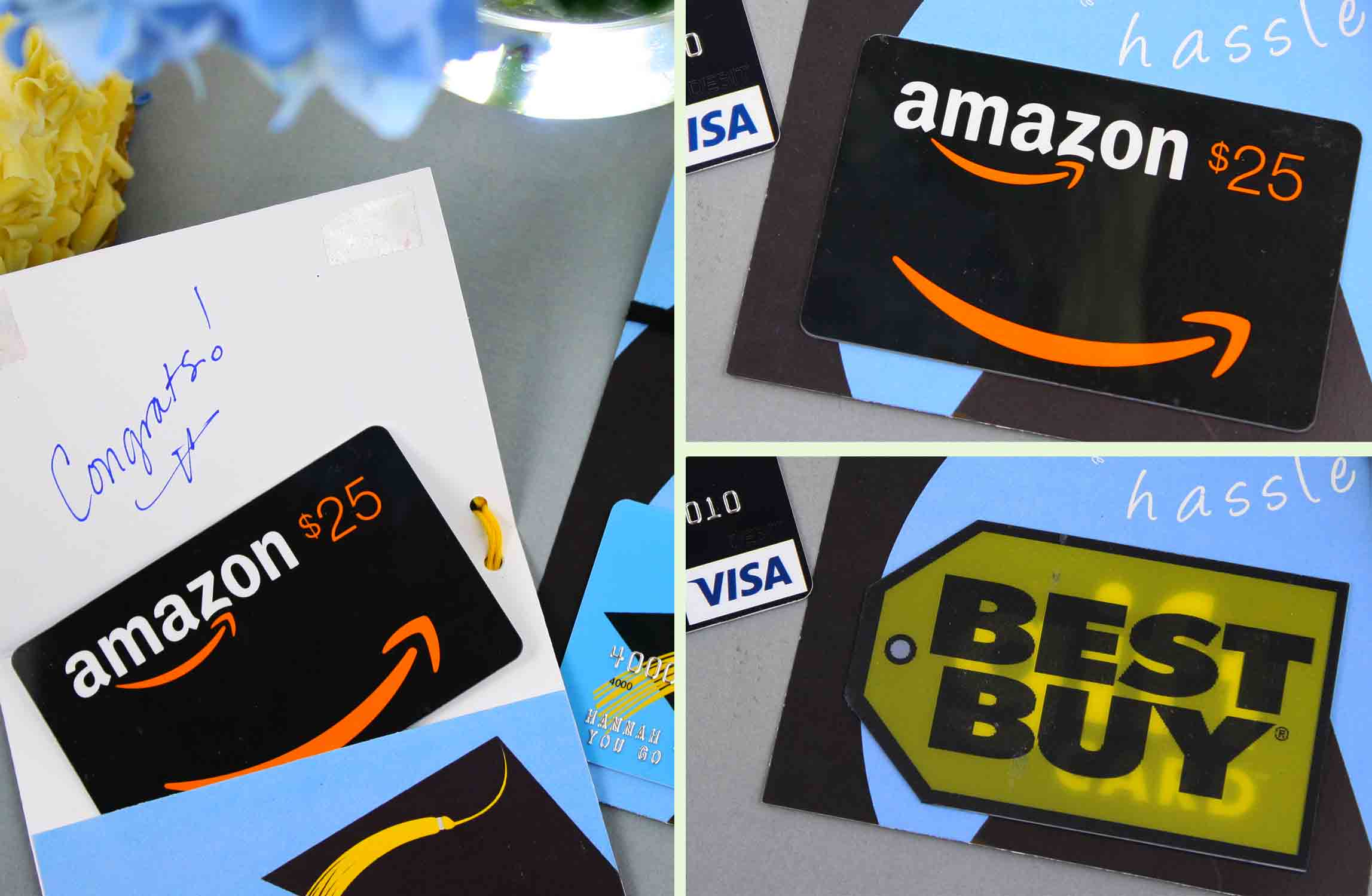 gift card printable with amazon and best buy gift cards