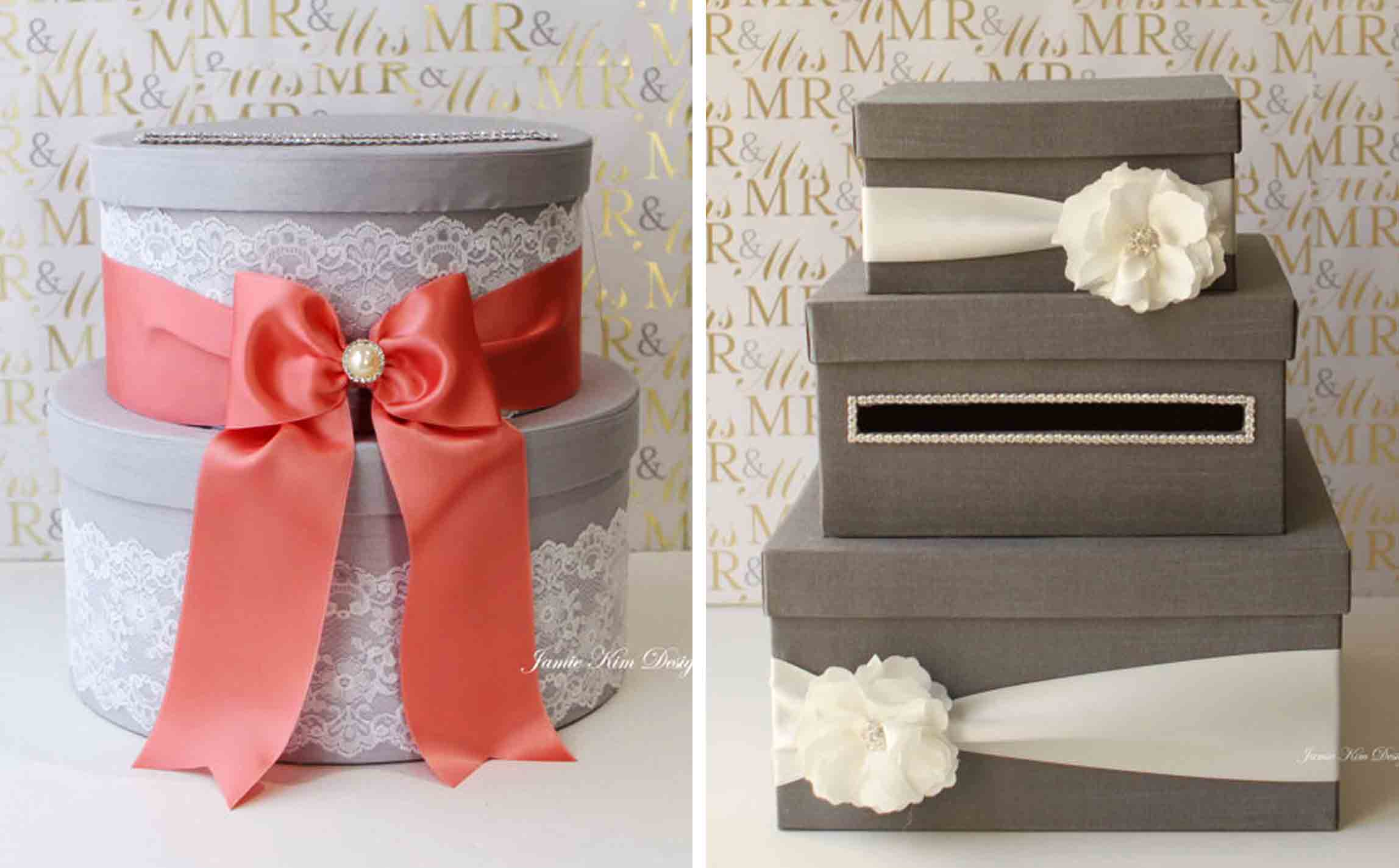 gift card table box and hat box