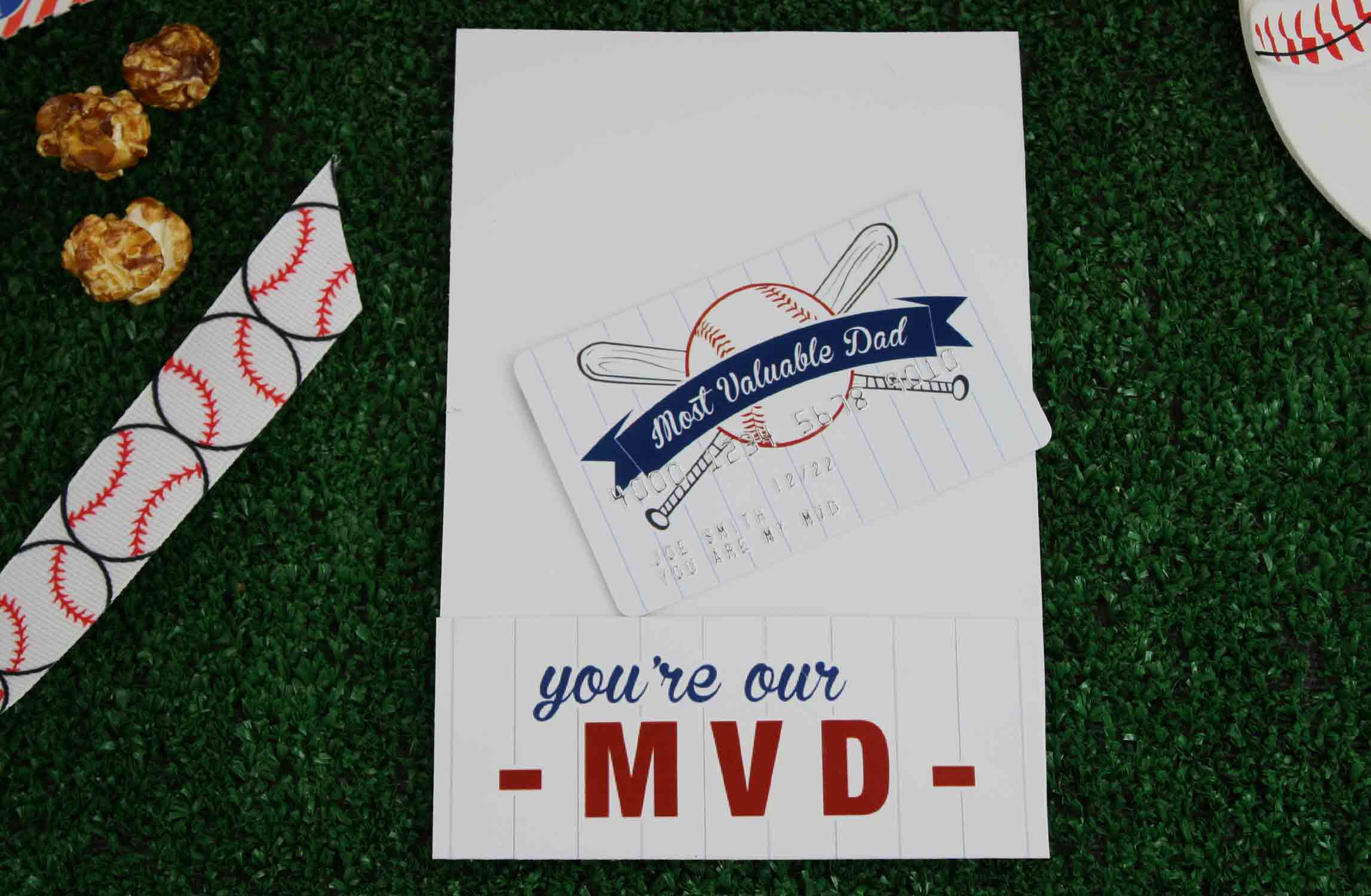 MVD card holder with matching card