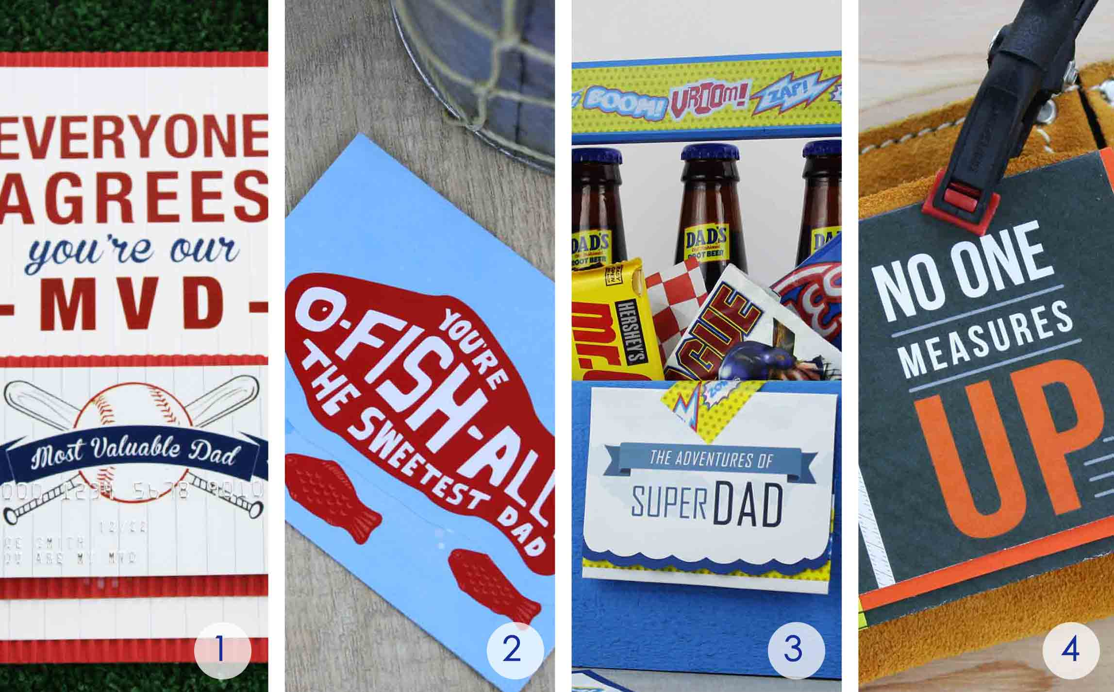 Free Father's Day Gift Card Holders