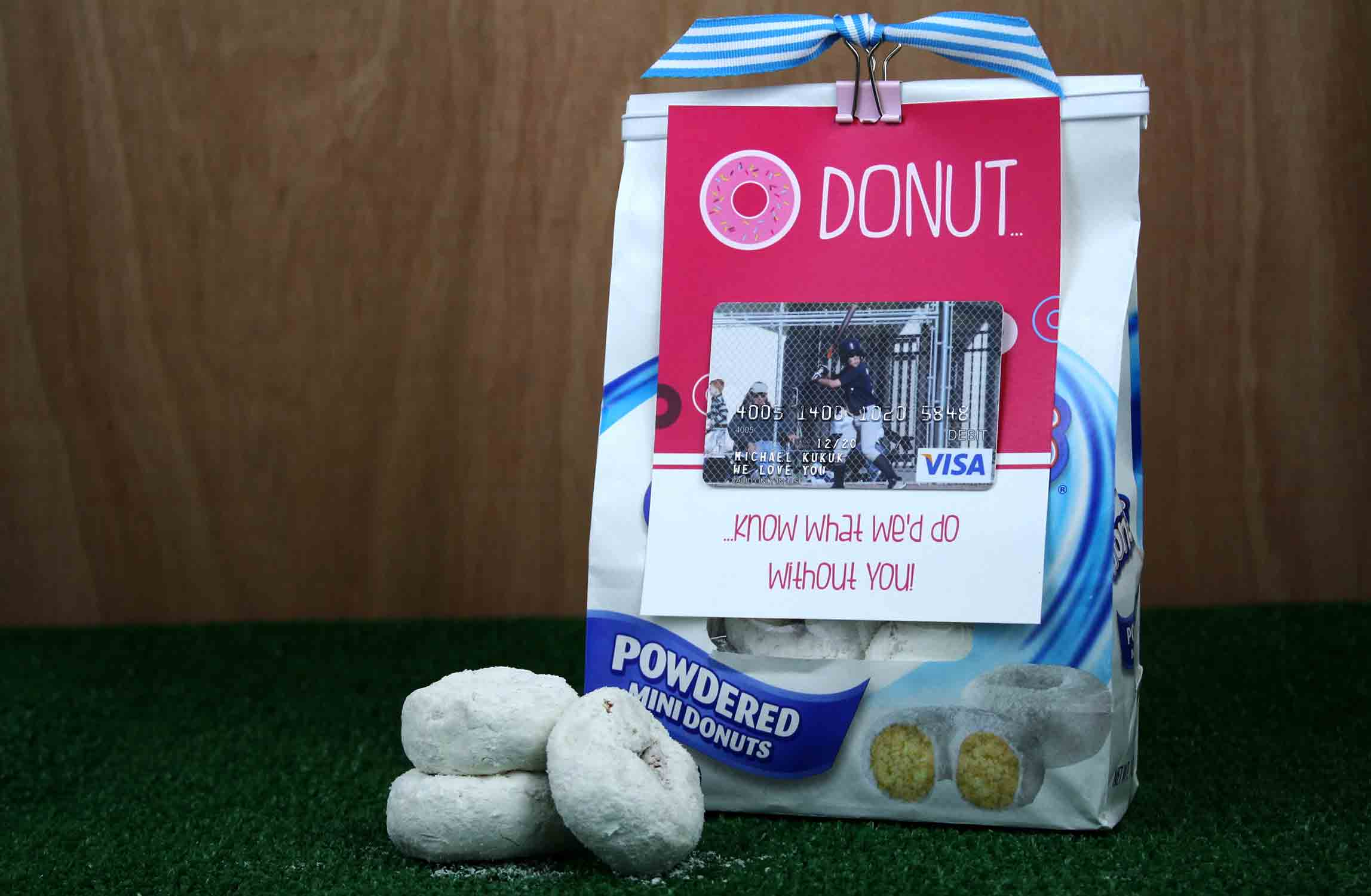 DONUT you know coach gift card holder