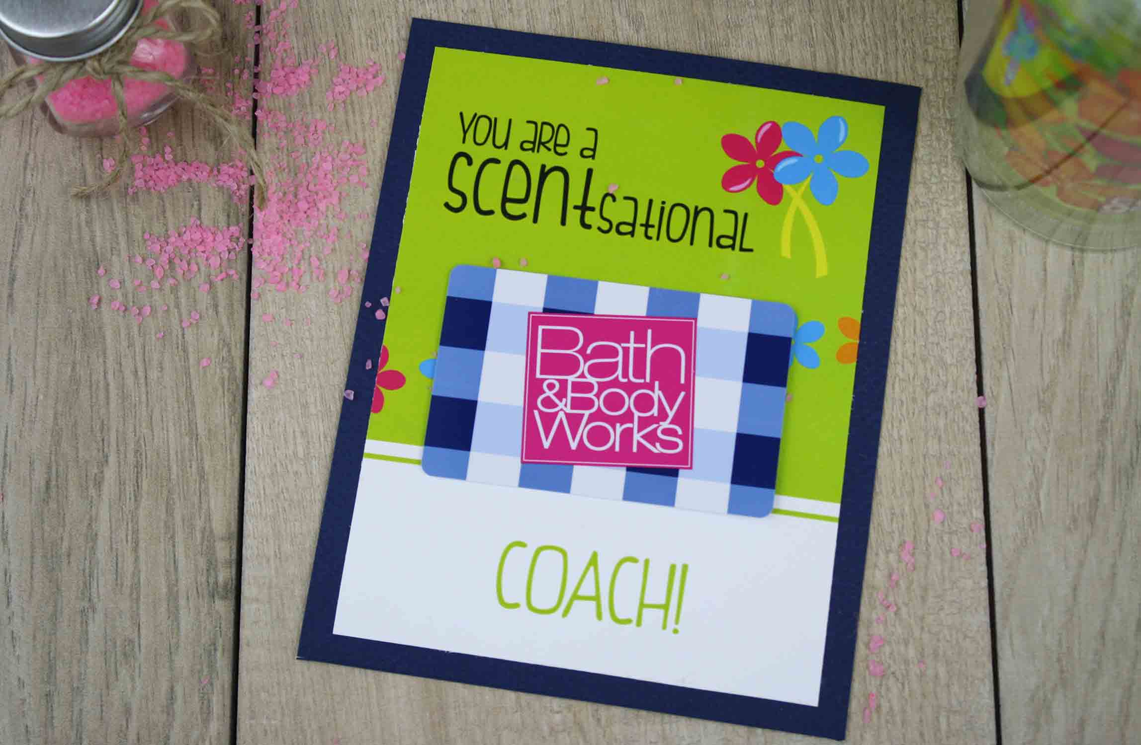 bath and bodyworks gift card holder