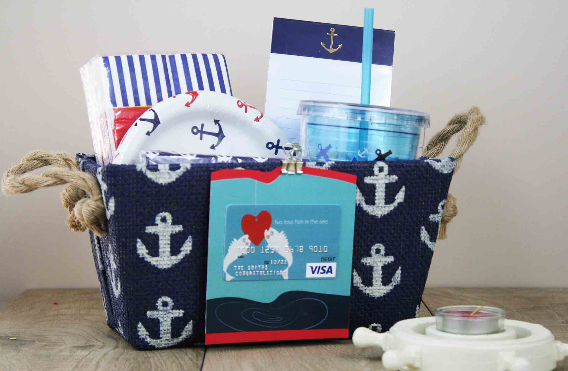nautical bridal shower gift