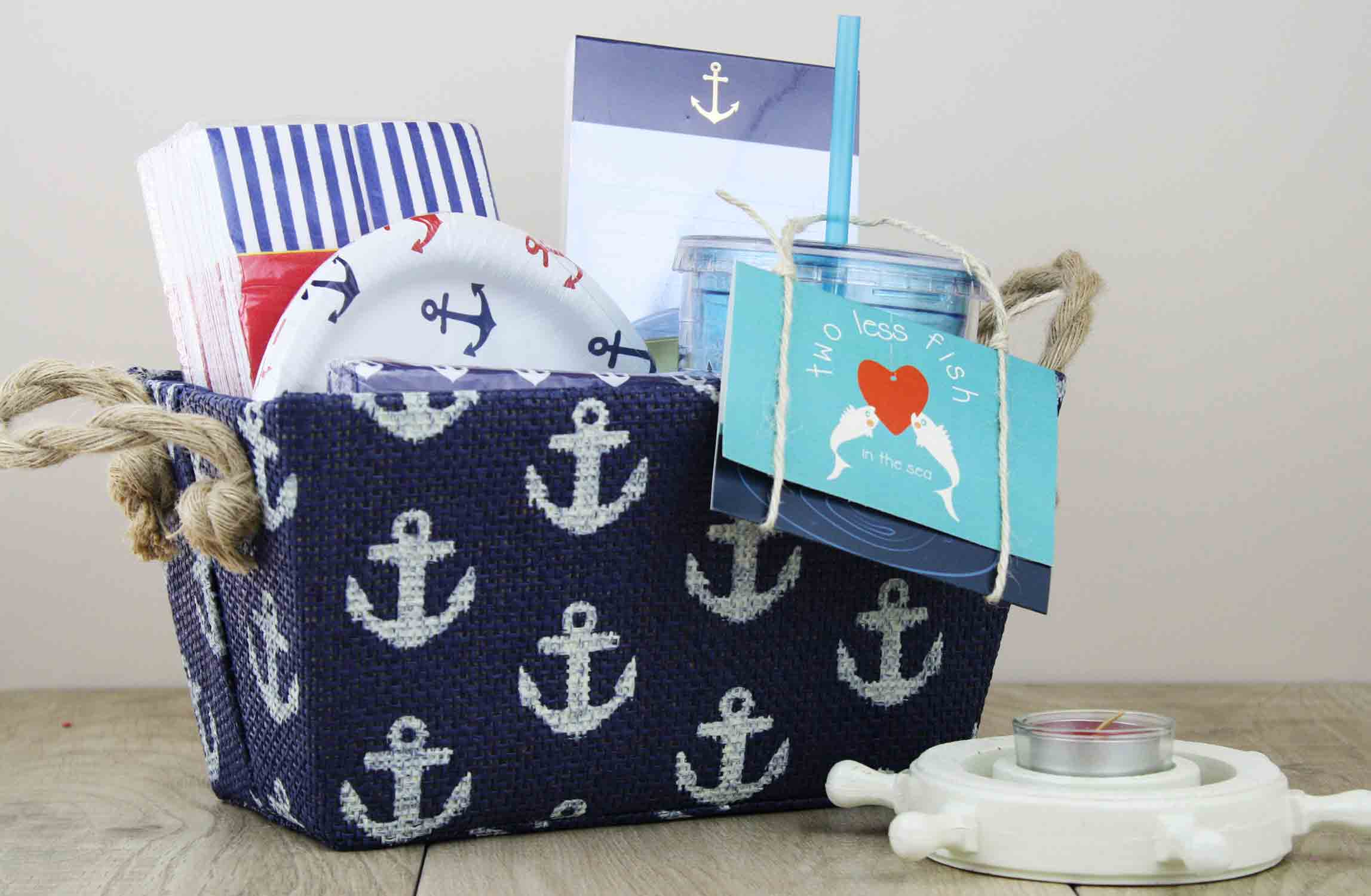 nautical themed wedding present