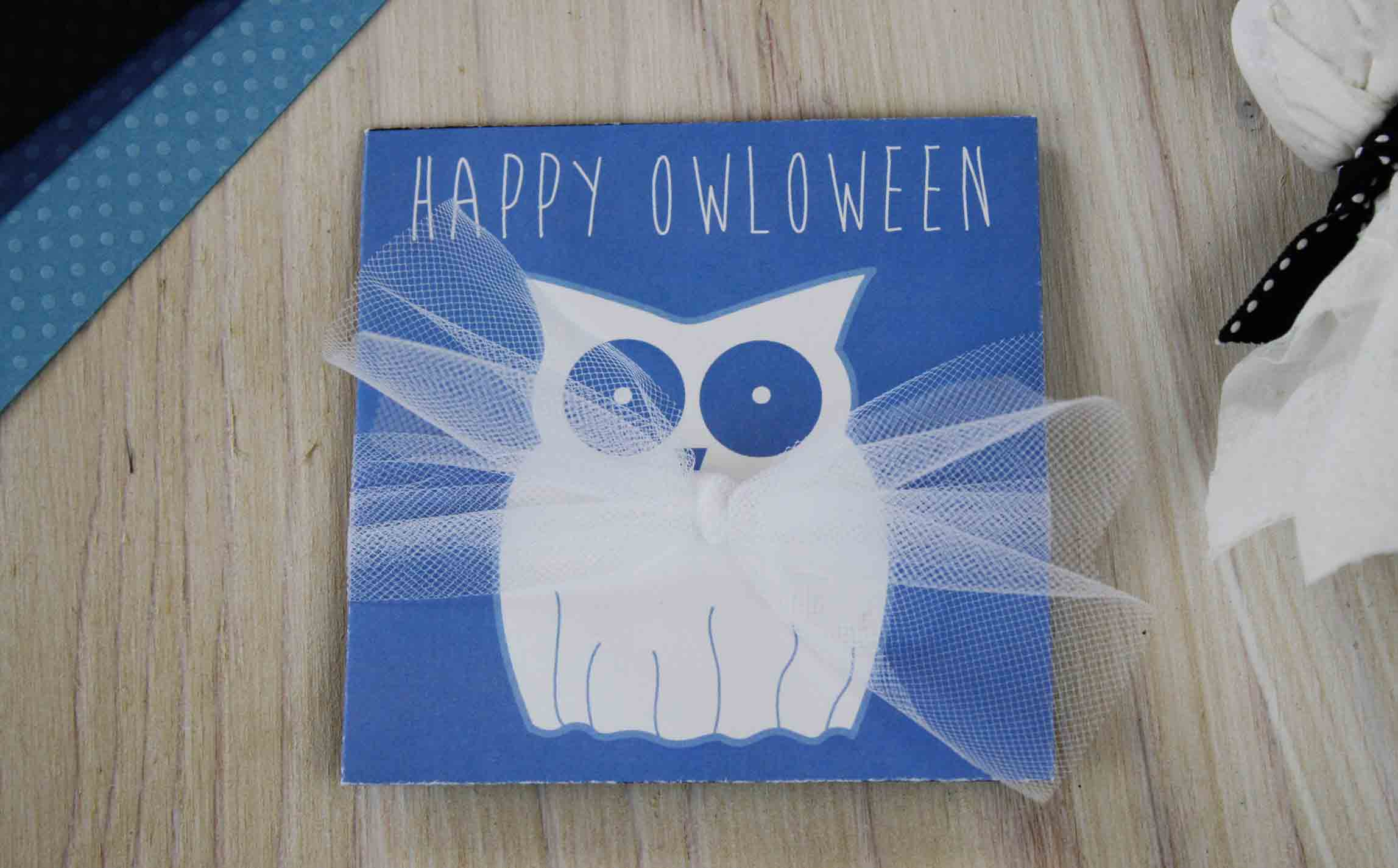 Happy OWLoween Ghost Finished