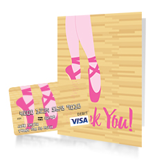 ballet gift card for teacher