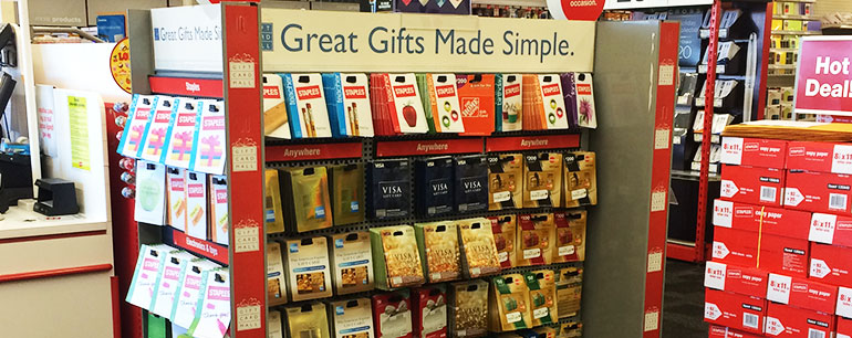 Visa Gift Cards Are Sold In Stores