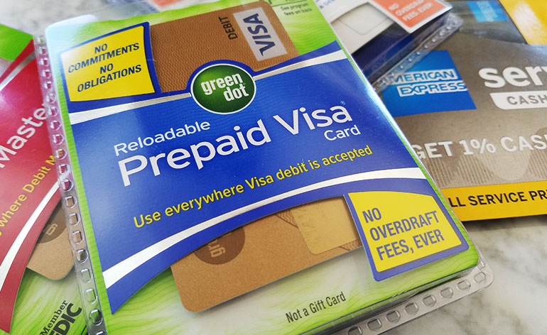 Realodable prepaid cards