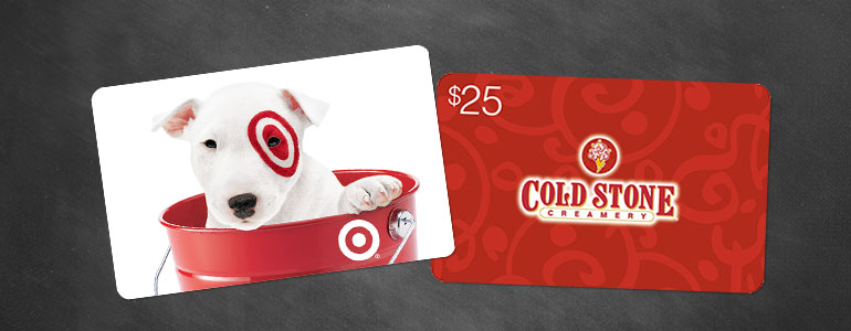 gift cards for preschool students