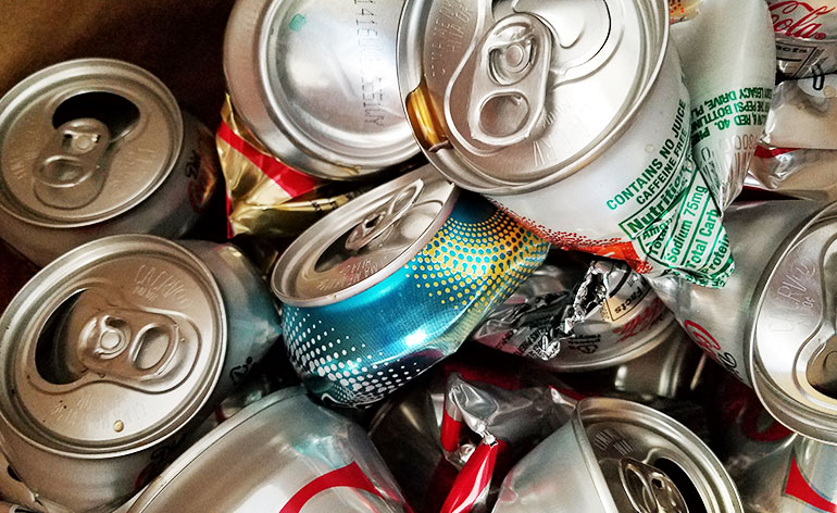 recycle cans for cash