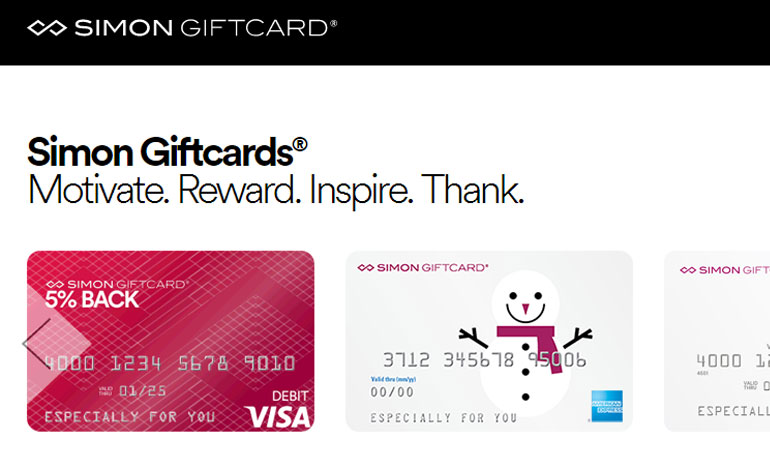 gift card to simon mall