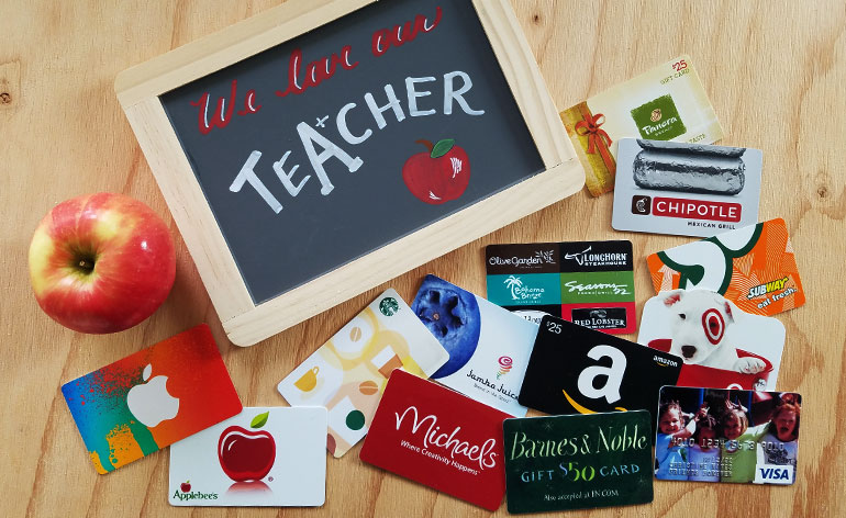 the best valentine gift cards for teachers in 2019