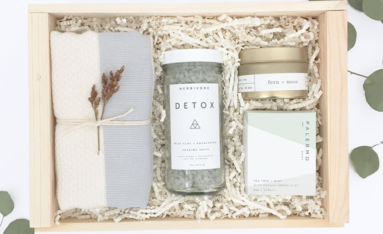 holiday detox box for employees