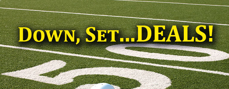 deals on football field