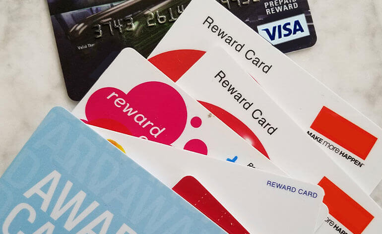 corporate reward cards
