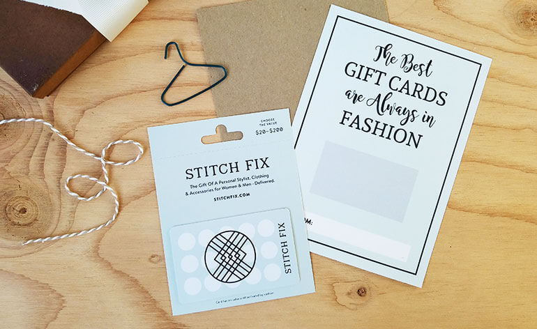 how to make a stitch fix present