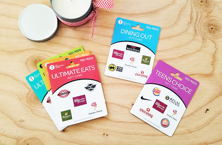 New category gift cards released 2017