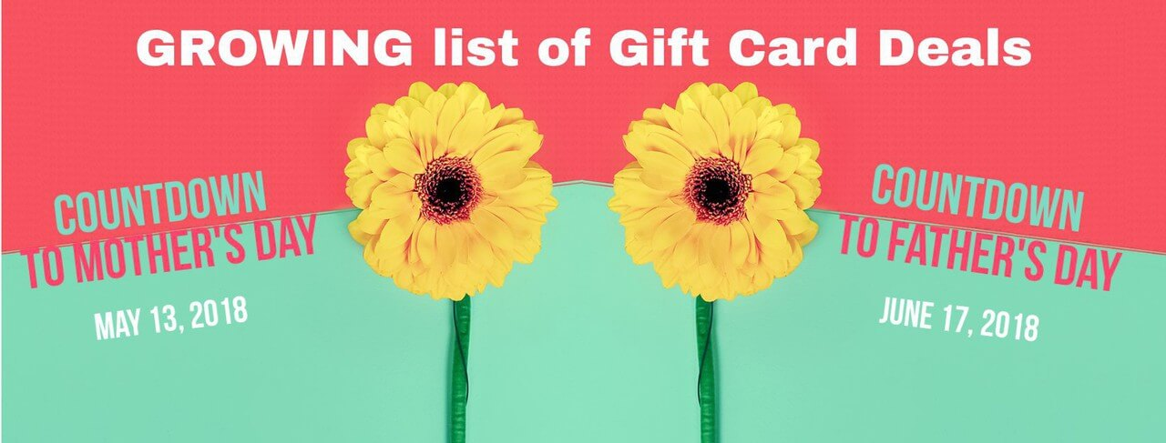 list of gift card deals