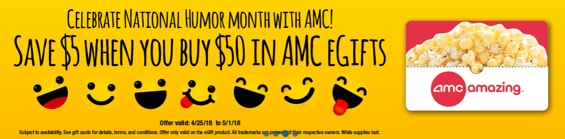 AMC gift card deal